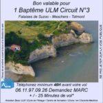 Baptême de l'air ULM à Falaises de Suzac
