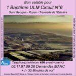 Baptême de l'air ULM à Saint Georges -Royan - Traversée de l'estuaire avec Airocéan