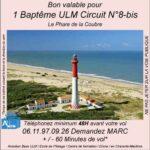 Baptême de l'air ULM Le phare de la Coubre avec Airocéan école de pilotage ulm et centre de formation de pilote ULM